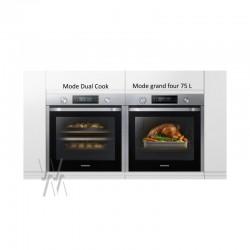Four encastrable Samsung 75 L Dual Cook NV75K5571BS